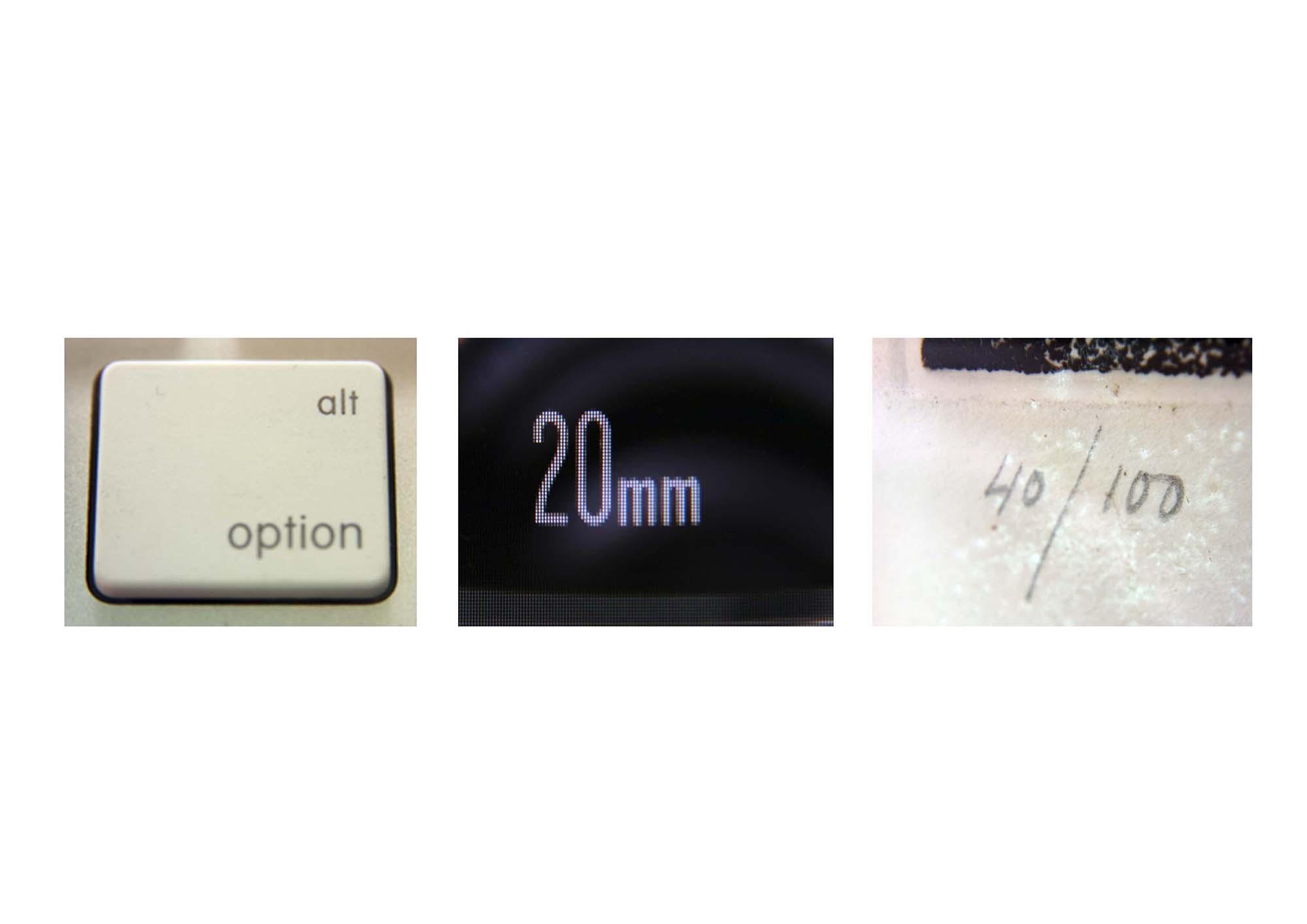 2010 - Alt+Option / 20mm / 40-100