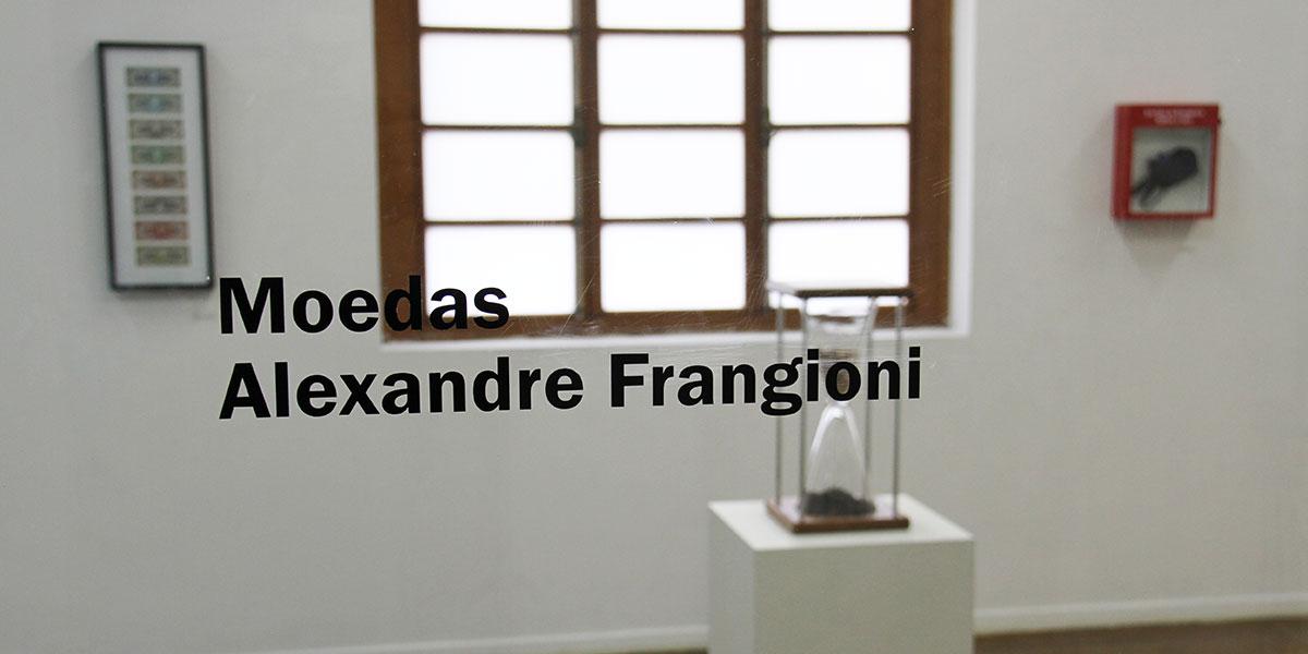 Exposição Moedas - Alexandre Frangioni